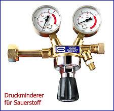 Flaschendruckminderer / Druckregler für Sauerstoff 0-10bar (einstufig)
