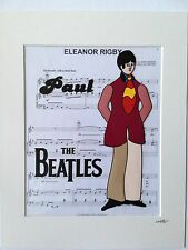 The Beatles - Paul McCartney - Yellow Submarine - Hand Drawn & Hand Painted Cel