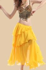 Belly Dance Costumes Outfit Set Bra Top Belt Hip Scarf Skirt Bollywood Carnival