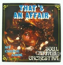 "SOUL AFFAIR ORCHESTRA Afro Funk / Belgium My Cherry Amor 12"" ACID JAZZ Disco NM"