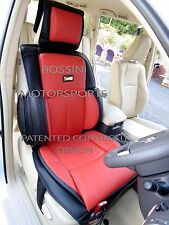 i - TO FIT A FORD FOCUS RS CAR, SEAT COVERS, YS06 RECARO SPORTS, RED / BLACK