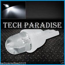 2x Ampoule T10 / W5W / W3W LED Bulb Blanc White veilleuse lampe light 12V Auto