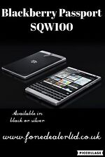 BlackBerry Passport SQW100 Silver Edition 32gb Unlocked Smartphone