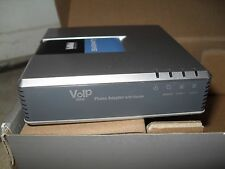 LYNKSYS Single Port Router With 2 Phone Ports VIOP SPA2102-R -