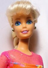 Vintage 1993 Barbie Gymnast Doll in original outfit