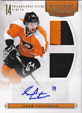 11-12 Rookie Anthology Sean Couturier /99 Auto Jersey Rookie Treasures Panini