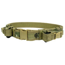 NEW CONDOR TB Tactical Combat Police SWAT 2 Pistol Mag Pouch Duty Belt Multicam