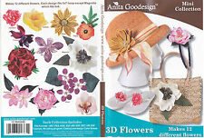 3D Flowers Anita Goodesign Embroidery Designs