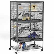 MidWest Critter Nation CAGE, Double Unit With Stand Small ANIMAL CAGE