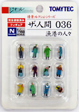 "Tomytec (Ningen 036) Model People ""People at the Fishing Port"" 1/150 N scale"