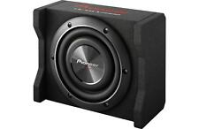 "New Pioneer TS-SWX2002 600 Watts 8"" Loaded Shallow Truck Subwoofer Enclosure"