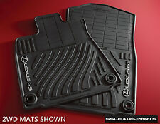 Lexus GS350 (2013-2016) AWD (ALL WHEEL DRIVE) 4pc OEM ALL WEATHER FLOOR MATS