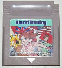 WORLD BOWLING GAME BOY JAP / COLOR / ADVANCE 271 1262 3700