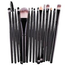 15 pcs/Sets Eye Shadow Foundation Eyebrow Lip Brush Cosmetic Makeup Brush Kit