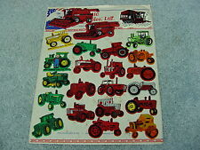 CASE IH INTERNATIONAL HARVESTER REFRIGERATOR MAGNET SET FARM TRACTORS