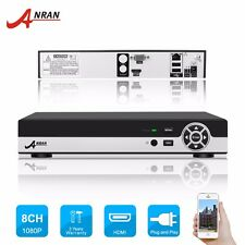 8CH 1080P H.264 Onvif NVR Network Video Recorder for Security Network IP camera