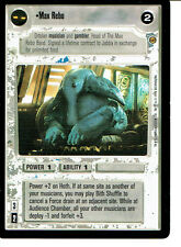 STAR WARS CCG JABBA'S PALACE BLACK BORDER LIGHT SIDE RARE MAX REBO