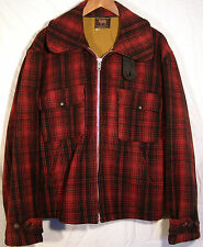 VINTAGE WOOLRICH HUNTING COAT JACKET - CLASSIC #545 - SIZE 46