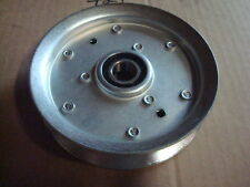 Flat Idler Pulley Replaces JOHN DEERE X300 Series Lawn Tractor AM135526