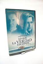 Lo que la verdad esconde. Película en DVD.