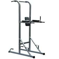 Power Tower Pull Up Station Knee Raise Rack Home Body Fitness Exercise