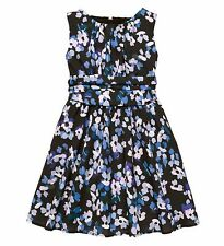 NWT KATE SPADE NEW YORK Sz14Y GIRL'S FLORAL SLEEVELESS DRESS HYDRANGEA $128