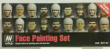 Vallejo Acrylic face painting set.