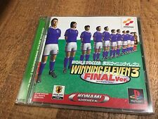 WORLD SOCCER JIKKYO WINNING ELEVEN 3 Final PS1 KONAMI Japanese *USA Seller*