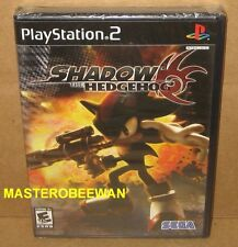 PS2 Shadow the Hedgehog Black Label New Sealed (Sony PlayStation 2, 2005)