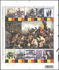 Belgium 2005 Steam Train/Dancers/Art/Expo/History/Heritage/Transport sht n40533