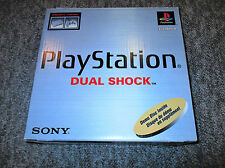 SONY PLAYSTATION 1 PS1 DualShock Console System w Original Box * NEAR COMPLETE
