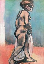 Henri Matisse,STANDING NUDE, NU DEBOUT, Offset Lithograph.1972 Plate-signed