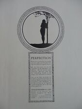 1915 ADVERTS DUNLOP RUBBER CO PERFECTION; SMITH'S GLASGOW MIXTURE WW1 WWI