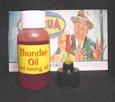 """Thunder Oil"" Repro of Aurora/AFx Special Red Racing Oil #14-25 in a Micro Oiler"