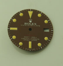 ROLEX REFINISHED 1680 RED SUBMARINER TROPICAL BROWN DIAL