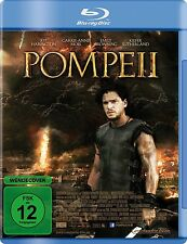 POMPEII (Kit Harington, Emily Browning, Kiefer Sutherland) BLU-RAY NEU