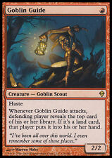 MTG GOBLIN GUIDE ASIAN EXC - GUIDA GOBLIN - ZEN - MAGIC