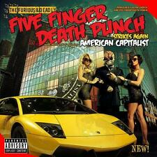 FIVE FINGER DEATH PUNCH - American Capitalist (Deluxe)    - 2xCD NEU