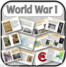 KS2 History  - WWI / World War 1 Primary  teaching resources and activities