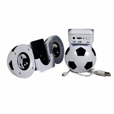 PORTABLE FOOTBALL COMPUTER & MP3 SPEAKER USB & BATTERY POWER WITH VOLUME CONTROL