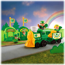 NEW LITTLE PEOPLE St. Patrick's Day Parade Play Set Irish Musical Train Dancers