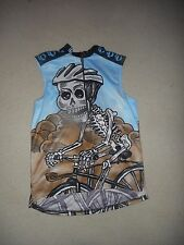 Pearl Izumi Cycling Jersey SM/Small Skeleton (Death Valley) Men/Women/Unisex