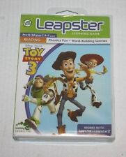 NIP Leapster 1 2 DISNEY TOY STORY 3 learning game cartridge Age 4-7 NEW