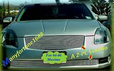 Polished New Billet Grille Comb for 04 05 06 2004 2005 2006 Nissan Maxima