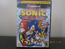 Sonic Mega Collection  (Nintendo GameCube, 2002) *Tested