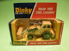 DINKY TOYS 437 MUIR HILL 2WL LOADER - RARE SELTEN - GOOD CONDITION IN BOX