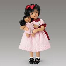 Aisha and her Dolly - Little Girl My Forever Friend Series Ashton Drake Doll