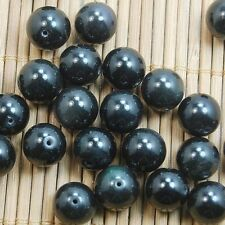 10pcs Natural obsidan   Round Spacer Beads Natural Gemstone 10mm
