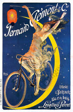 Fernand Clement vintage bicycle poster repro 24x36