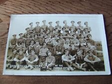 W.WAR.1.  CANADIAN MOUNTED RIFLES.   PHOTOGRAPHIC POSTCARD.  NICE CONDITION..
